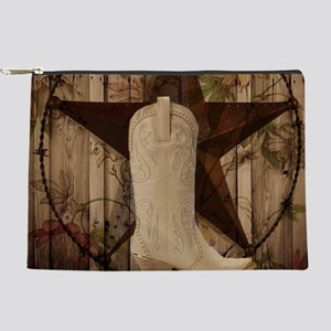 texas western country cowgirl Makeup Bag