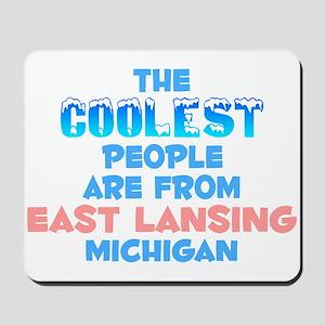Coolest: East Lansing, MI Mousepad