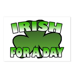 Irish For a Day Postcards (Package of 8)