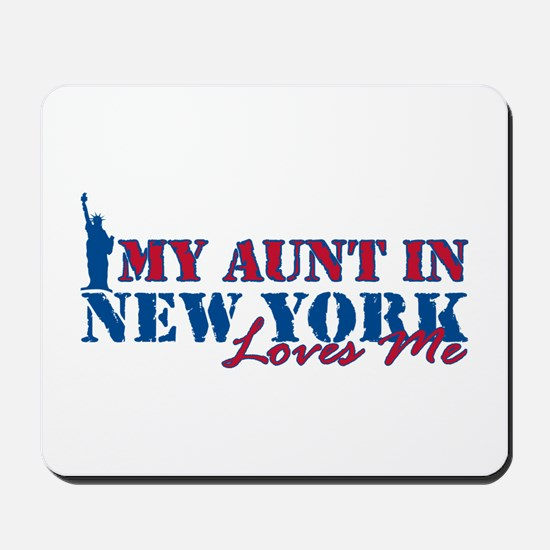 My Aunt in NY Mousepad