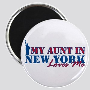 My Aunt in NY Magnet