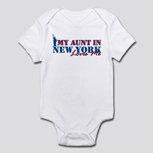 My Aunt in NY Infant Bodysuit