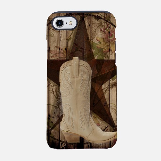 texas western country cowgir iPhone 8/7 Tough Case