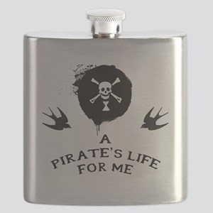 A Pirate's Life For Me Flask