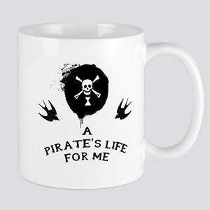 A Pirate's Life For Me Mugs