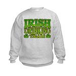 Irish Drinking Team Kids Sweatshirt