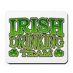 Irish Drinking Team Mousepad