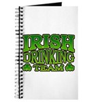 Irish Drinking Team Journal