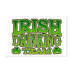 Irish Drinking Team Mini Poster Print