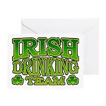 Irish Drinking Team Greeting Card