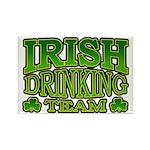Irish Drinking Team Rectangle Magnet (10 pack)