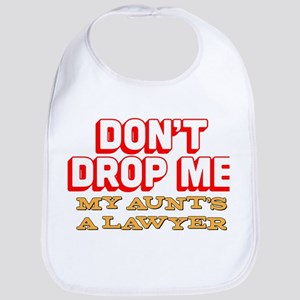 Don't Drop Me Cotton Baby Bib