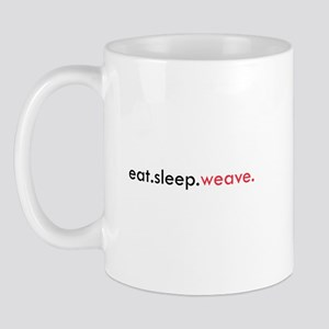 Eat Sleep Weave Mug