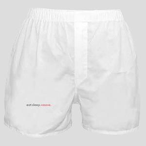 Eat Sleep Weave Boxer Shorts