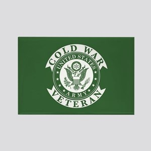 Army Cold War Veteran Rectangle Magnet