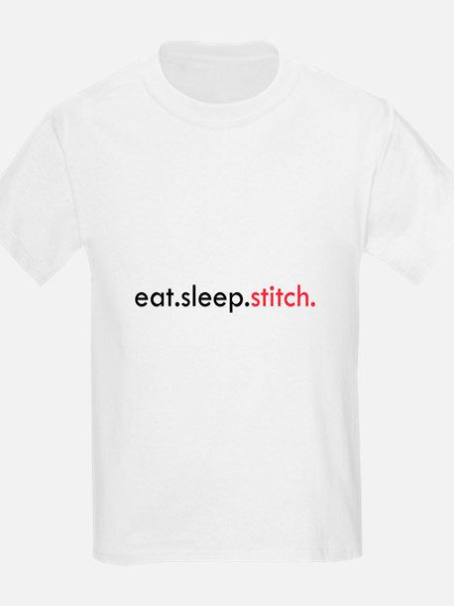 Eat Sleep Stitch T-Shirt