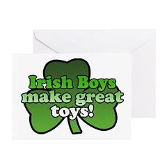 Irish Boys Make Great Toys Greeting Cards (Pk of 1