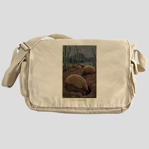 Vintage Armadillo Painting (1909) Messenger Bag