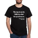 Benjamin Franklin 15 Dark T-Shirt