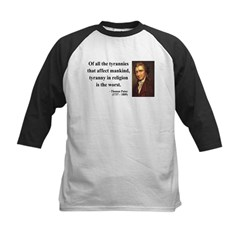 Thomas Paine 21 Kids Baseball Jersey