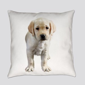Standing Yellow Lab Everyday Pillow