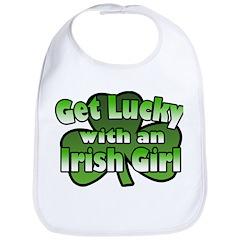 Get Lucky with an Irish Girl Bib