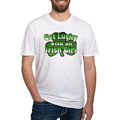 Get Lucky with an Irish Girl Shirt