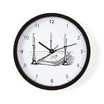 3 Lesser Masonic Lights Wall Clock