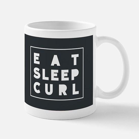 Eat Sleep curl Mugs
