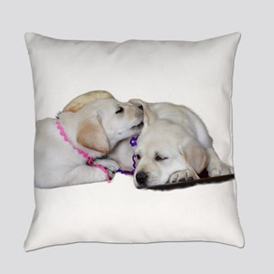 Lab Ear Sniff Everyday Pillow