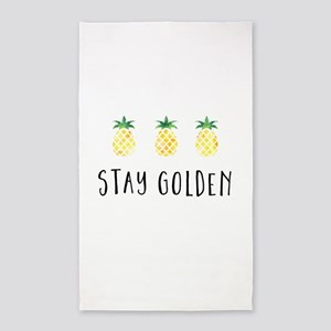 Stay Golden Area Rug