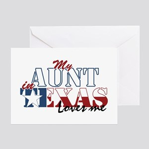 My Aunt in TX Greeting Card