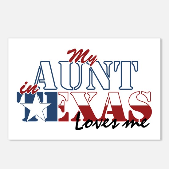My Aunt in TX Postcards (Package of 8)