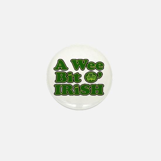Wee Bit O Irish Mini Button