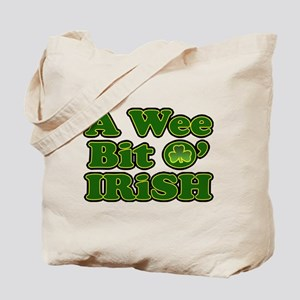 Wee Bit O Irish Tote Bag