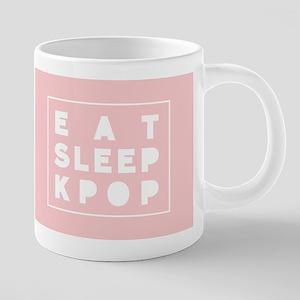 Eat Sleep Kpop Mugs
