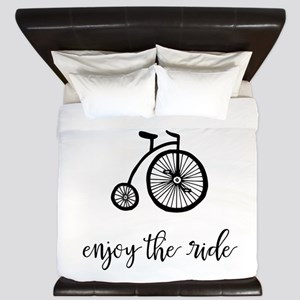 Enjoy the Ride King Duvet