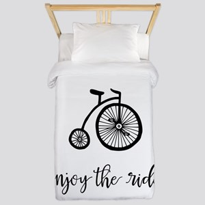 Enjoy the Ride Twin Duvet Cover