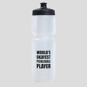 Worlds Okayest Pickleball Player Funny Sports Bott