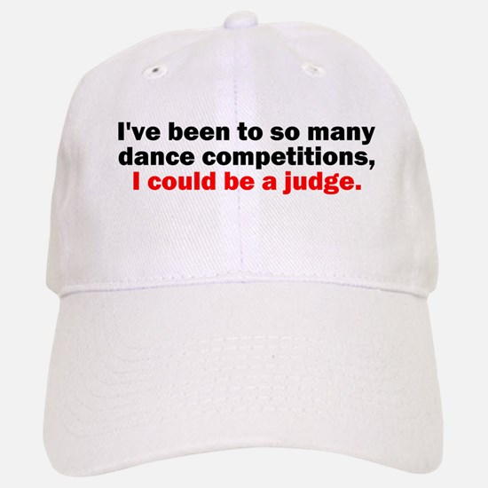 Dance Competition Baseball Baseball Cap