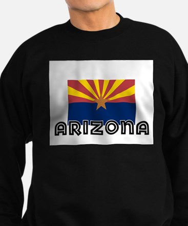 I HEART ARIZONA FLAG Sweatshirt