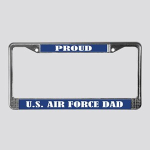 Proud U.s. Air Force Dad License Plate Frame