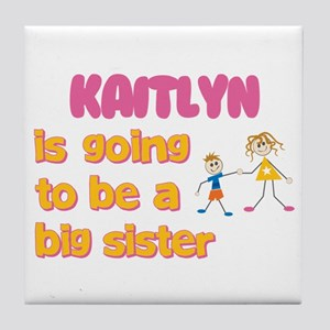 Kaitlyn - Going to be a Big S Tile Coaster
