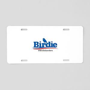 Birdie Sanders Aluminum License Plate