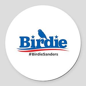Birdie Sanders Round Car Magnet