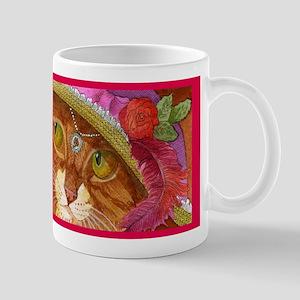 Pretty Girl Ginger CAT Mug