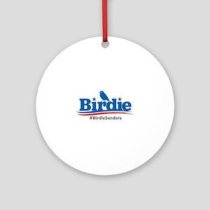Birdie Sanders Round Ornament
