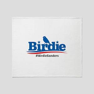 Birdie Sanders Throw Blanket