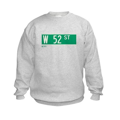 52nd Street in NY Kids Sweatshirt