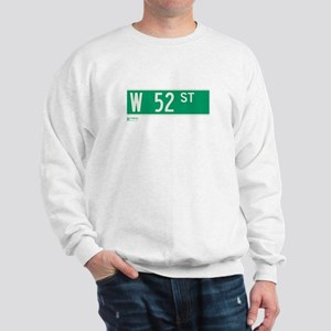 52nd Street in NY Sweatshirt